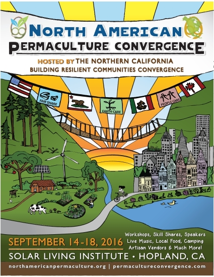 North American Permaculture and Building Resilient Communities Convergence