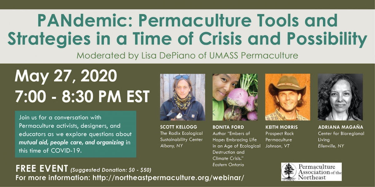 PANdemic Webinar: Permaculture Tools and Strategies in a Time of Crisis and Possibility