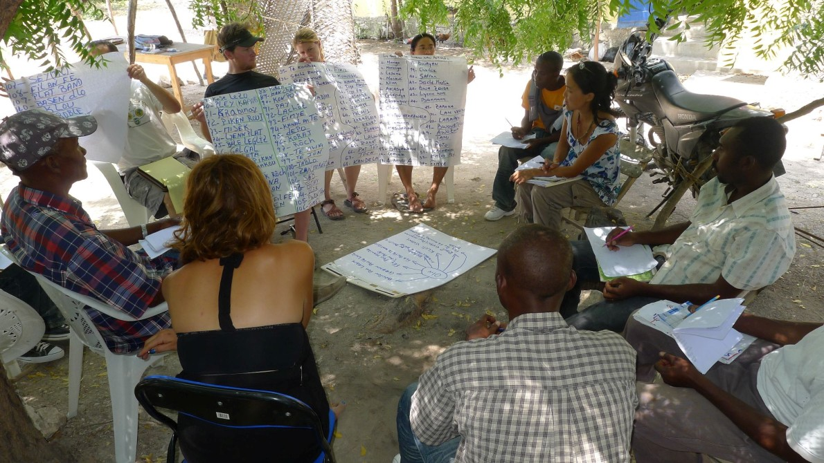 permaculture course in Haiti
