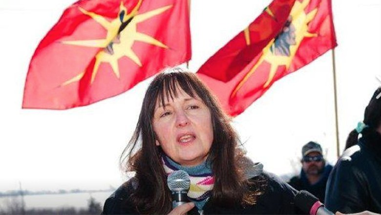 Mireille LaPointe, former co-chief of Ardoch Algonquin First Nation